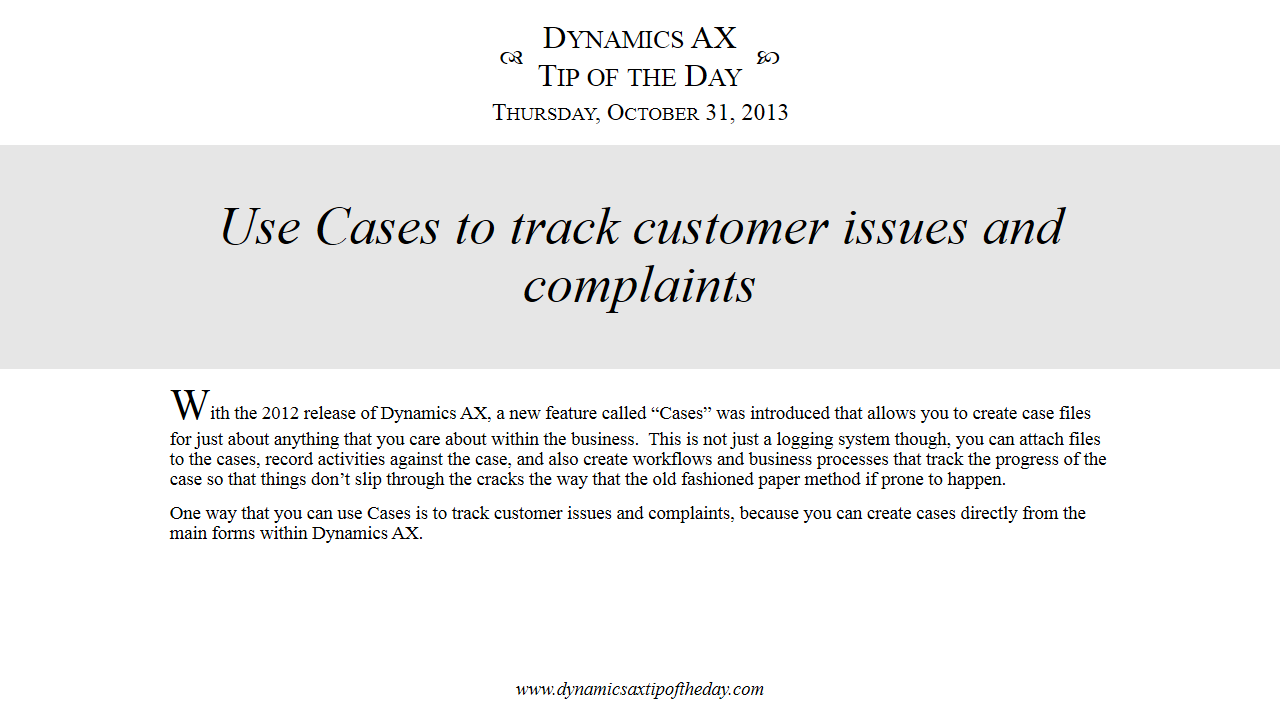 Consumer Complaint Database