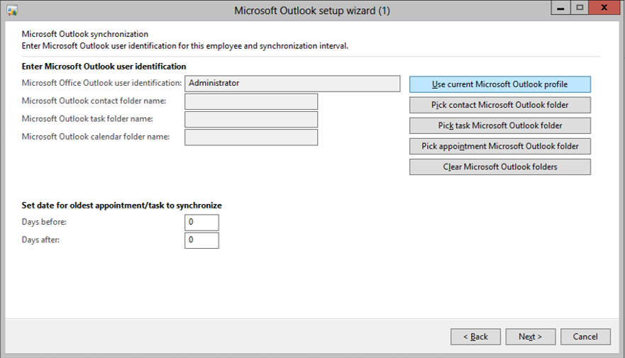 Synchronize Dynamics AX with Microsoft Outlook | Dynamics AX Tip Of
