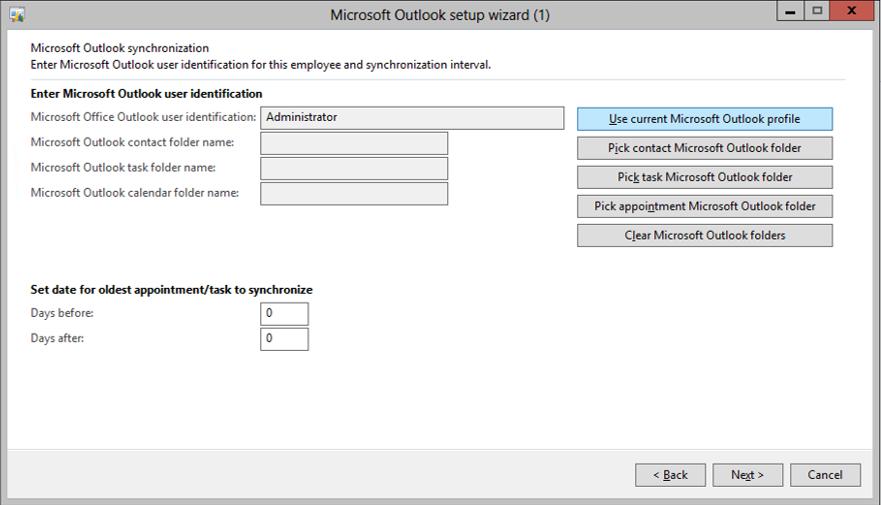 Outlook Synchronizing Folders