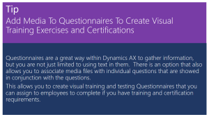 Add Media To Questionnaires To Create Visual Training Exercises and Certifications