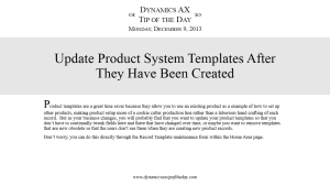 Update Product System Templates After They Have Been Created