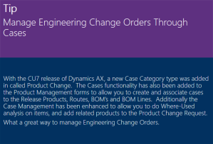 Manage Engineering Change Orders Through Cases