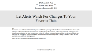 Let Alerts Watch For Changes To Your Favorite Data
