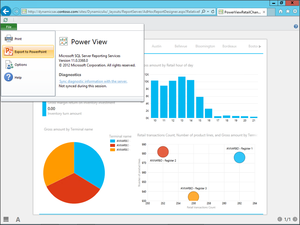 Export Powerview Dashboards As Powerpoint To Create