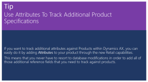 Use Attributes To Track Additional Product Specifications